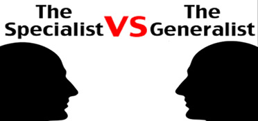 Are generalists better than specialists in Digital?