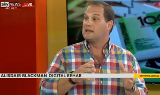 Sky News Australia Interview with Alisdair Blackman on Digital Transformation & Disruption
